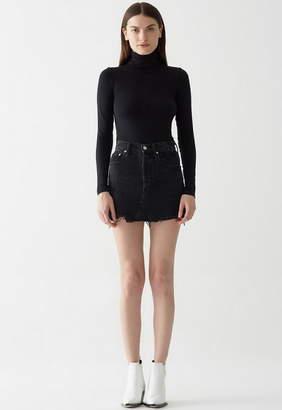 A Gold E AGOLDE Quinn High Rise Mini Skirt
