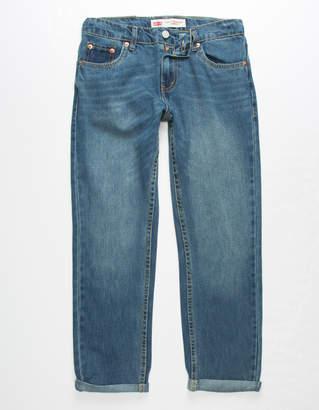 Levi's 502 Regular Taper Medium Wash Boys Jeans