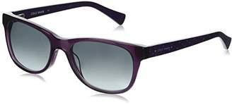 Cole Haan Women's Ch7011 Plastic Rectangular Sunglasses
