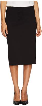 Vince Camuto Specialty Size Petite Ponte Pencil Skirt Women's Skirt