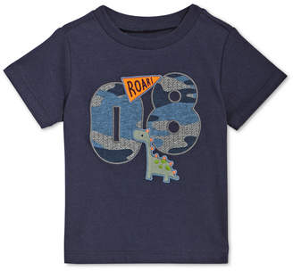 First Impressions Baby Boys Varsity-Print Cotton T-Shirt, Created for Macy's