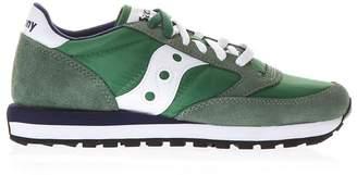 Saucony Green Jazz Original Sneakers In Suede