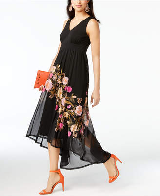 Inc International Concepts Printed High-Low Dress, Only at Macy's $89.50 thestylecure.com