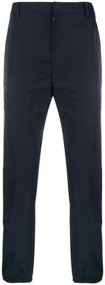 Prada contrast insert trousers