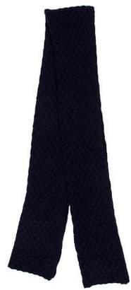 Chanel Cashmere CC Knit Scarf