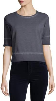 J Brand Women's Sanora Cropped Sweatshirt