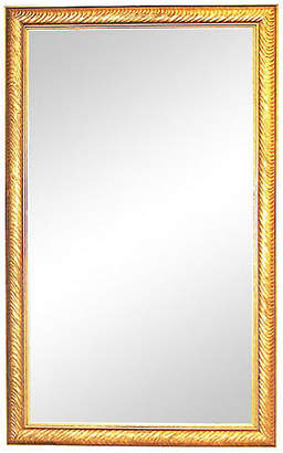 One Kings Lane Vintage Gilt Beveled Mirror - House of Charm Antiques