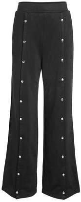 Alexander Wang Wide-Leg Pants with Cotton