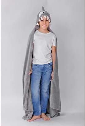 DOWN HOME Down Home Shark Hooded Throw