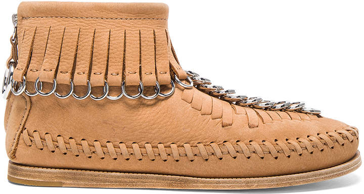 Alexander Wang Leather Montana Booties