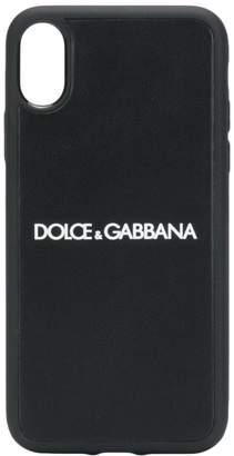 Dolce & Gabbana iPhone X logo case