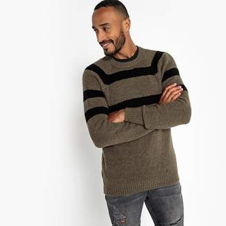 La Redoute Collections Crew Neck Chunky Knit Jumper
