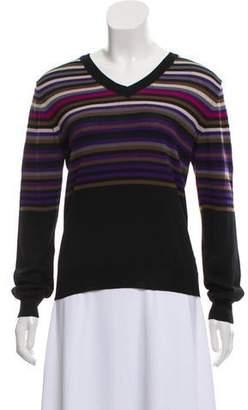 Aquascutum London Wool Stripe Sweater