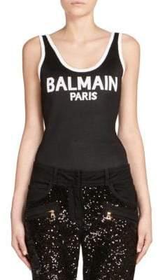 Balmain Logo Bodysuit