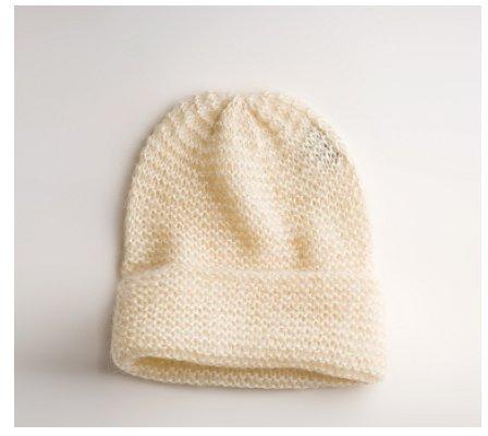 Knit Oversized Hat