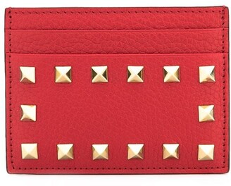 Valentino Rockstud card holder