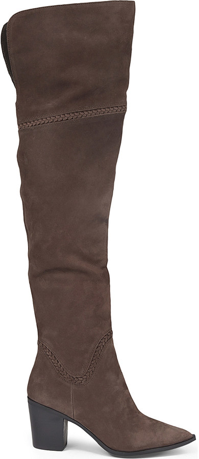 Aldo Aldo Olena leather thigh-high boots