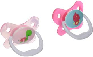 Dr Browns Dr. Brown's PreVent Butterfly Pacifiers 2 Pack - Pink