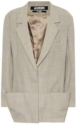Jacquemus Saafi wool blazer