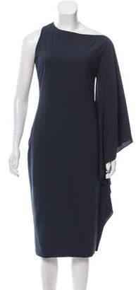Cushnie et Ochs Bateau-Neck Midi Dress