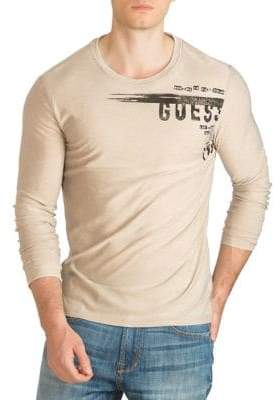 GUESS Graphic Long-Sleeve T-Shirt
