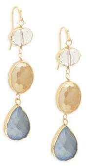 Panacea Faceted Drop Earrings