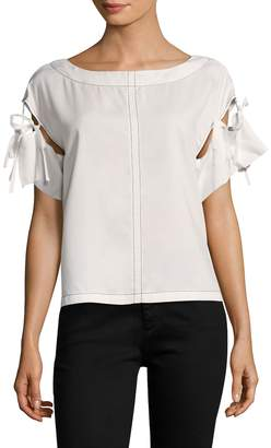 Tracy Reese Women's Tie Sleeve Top