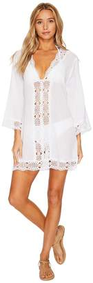 LaBlanca La Blanca Island Fare V-Neck Tunic Cover-Up Women's Swimwear