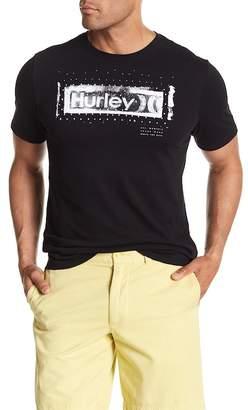 Hurley Roller Crew Neck Graphic Tee