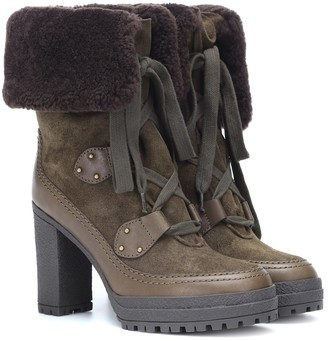 See by Chloe Verena suede ankle boots
