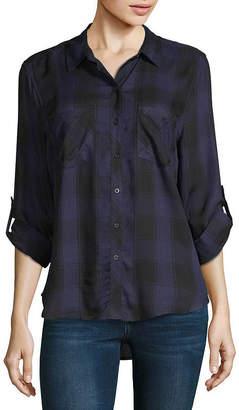 A.N.A Plaid Shirt- Tall