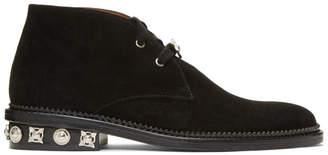 Toga Virilis Black Suede Desert Boots