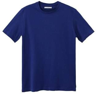 Mango Man MANGO MAN Rounded neck cotton t-shirt