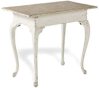 Ralph Lauren Home Writing Side Table - Scrubbed Pine