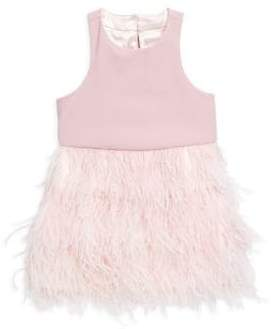 Milly Minis Little Girl's Blaire Feather A-Line Dress