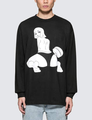 Pleasures Poof L/S T-Shirt