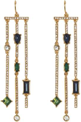 Vince Camuto Mixed-jewel Chandelier Earrings