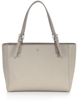 Tory Burch York Small Saffiano Leather Tote $245 thestylecure.com