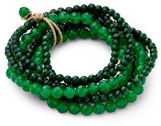 Catherine Canino Green Quartz Stretch Bracelet Set - Green Quartz