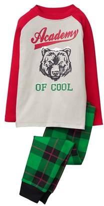 Crazy 8 Bear 2-Piece Pajama Set