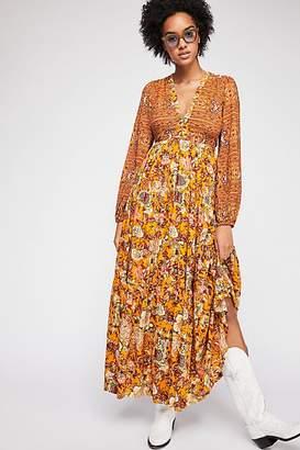 Dove Long Sleeve Maxi Dress