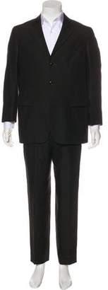 Kenzo Linen Notch-Lapel Suit