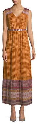 Style&Co. STYLE & CO. Geometric-Print Maxi Dress