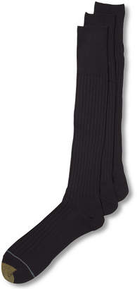 Gold Toe 3 Pack Crew Dress Socks