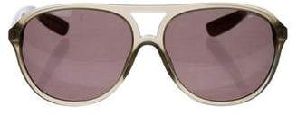 Bottega Veneta Tinted Aviator Sunglasses