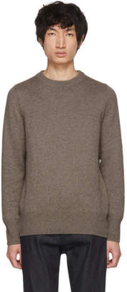 Bottega Veneta Grey Cashmere Crewneck Sweater