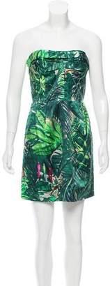Louis Vuitton Silk Jungle Dress