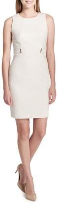 Calvin Klein Collection Animal-Print Sheath Dress