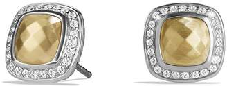 David Yurman Albion Earring with 18K Gold Dome and Diamonds