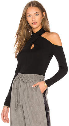 Milly Wrap Keyhole Top